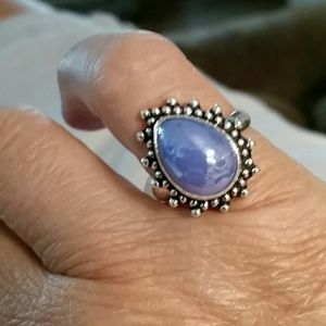 Jewelry - Inhibitions? Chalcedony ring - 925 sterling silver
